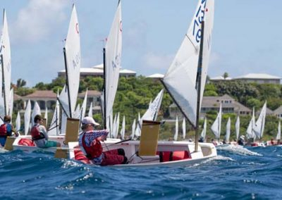 Interanational optimist regatta st thomas yacht club