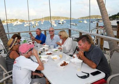 Dining-at the st thomas yacht club