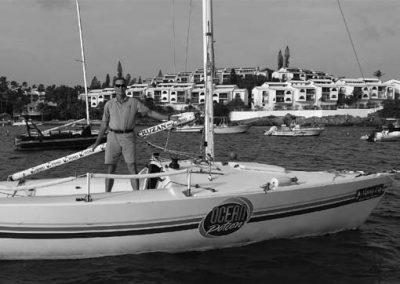 IC-24 sail boat