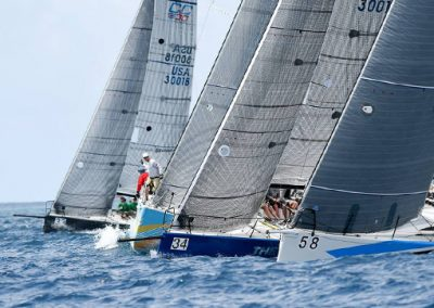 Round the Rock Race at St Thomas Yacht Club