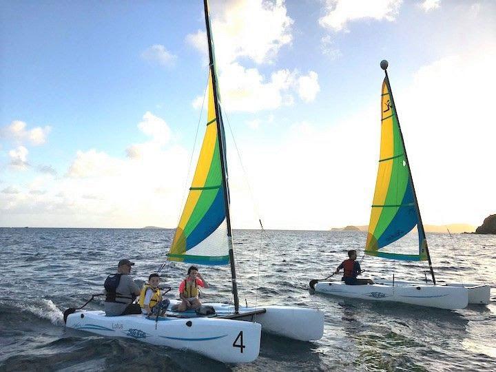 sailing in st thomas