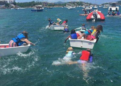 styc summer camp paddling