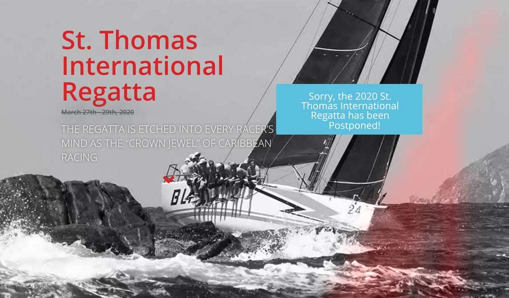 2020 St. Thomas International Regatta Postponed