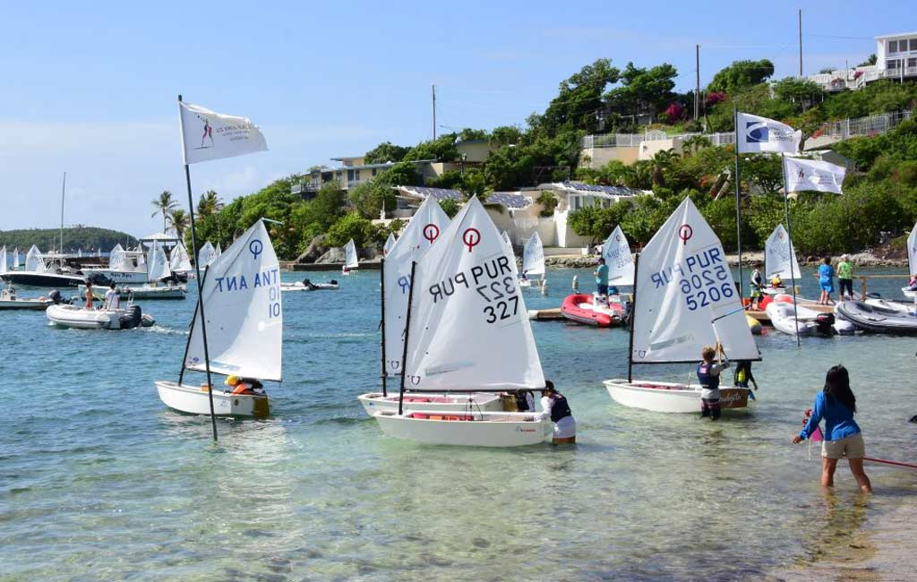 Registration now open for International 2021 Optimist Regatta